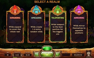 ChiBeasties 2 select a realm