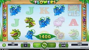 Flowers Video Slot Symbols