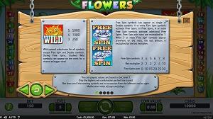 Flowers Video Slot Wild