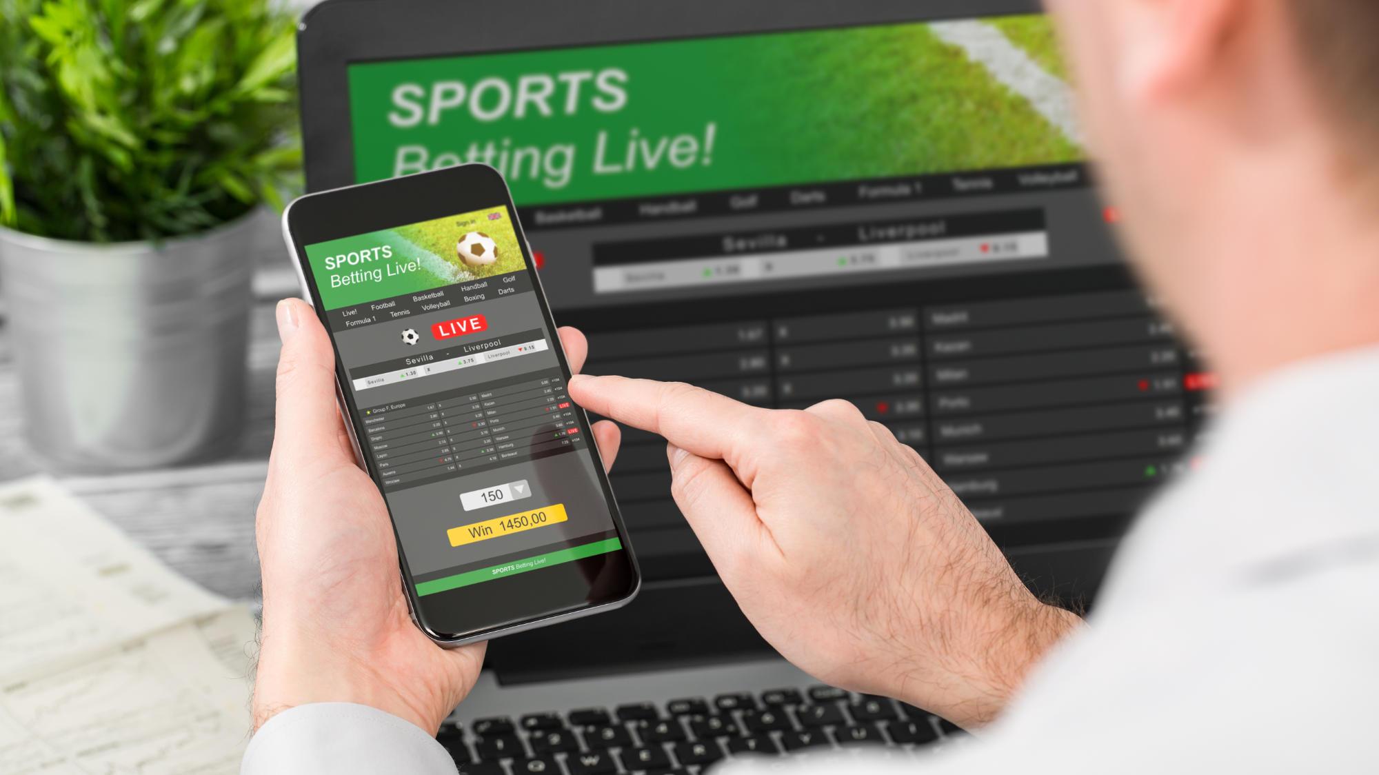Taruhan Olahraga Langsung di Komputer dan Ponsel Cerdas