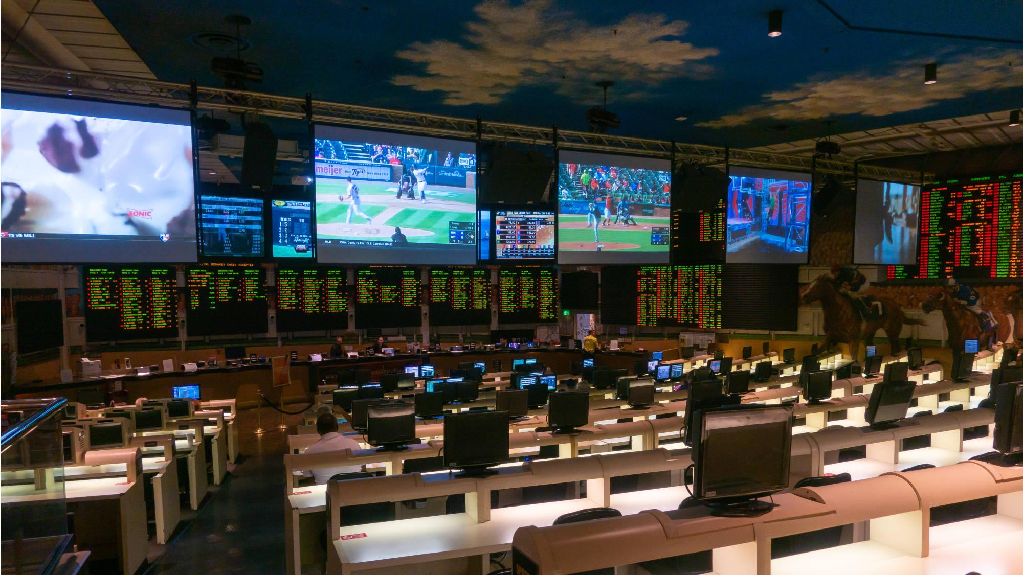 Sportsbook di Bally's Casino Las Vegas
