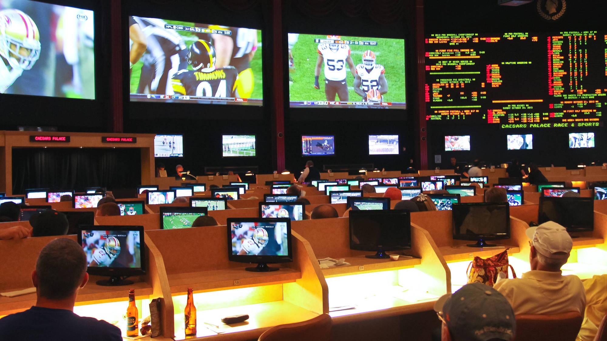 Taruhan Olahraga Di Caesar's Palace, Las Vegas