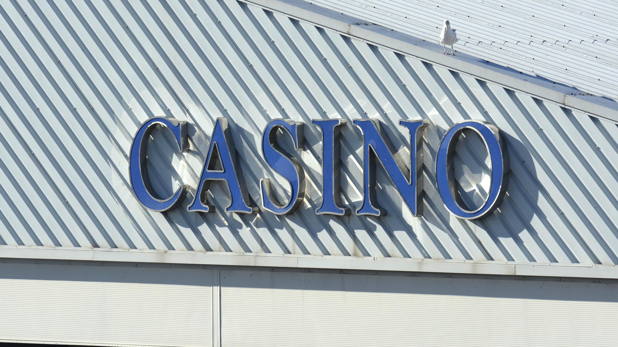 Tanda kasino di Rendezvous Brighton Marina
