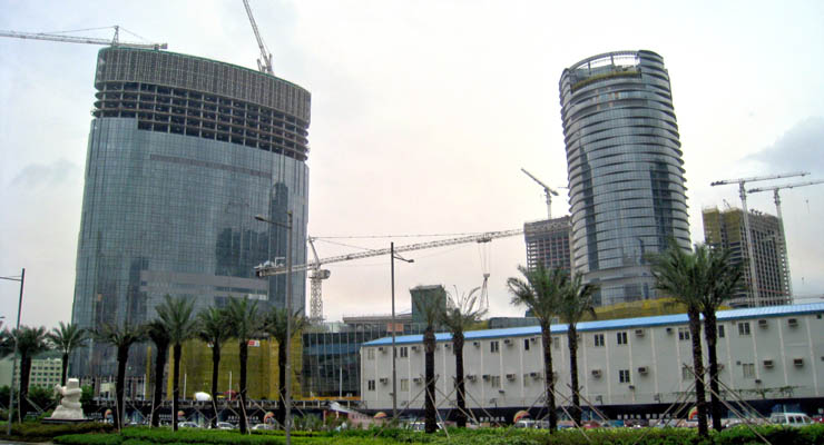 City of Dreams Macau Under Construction