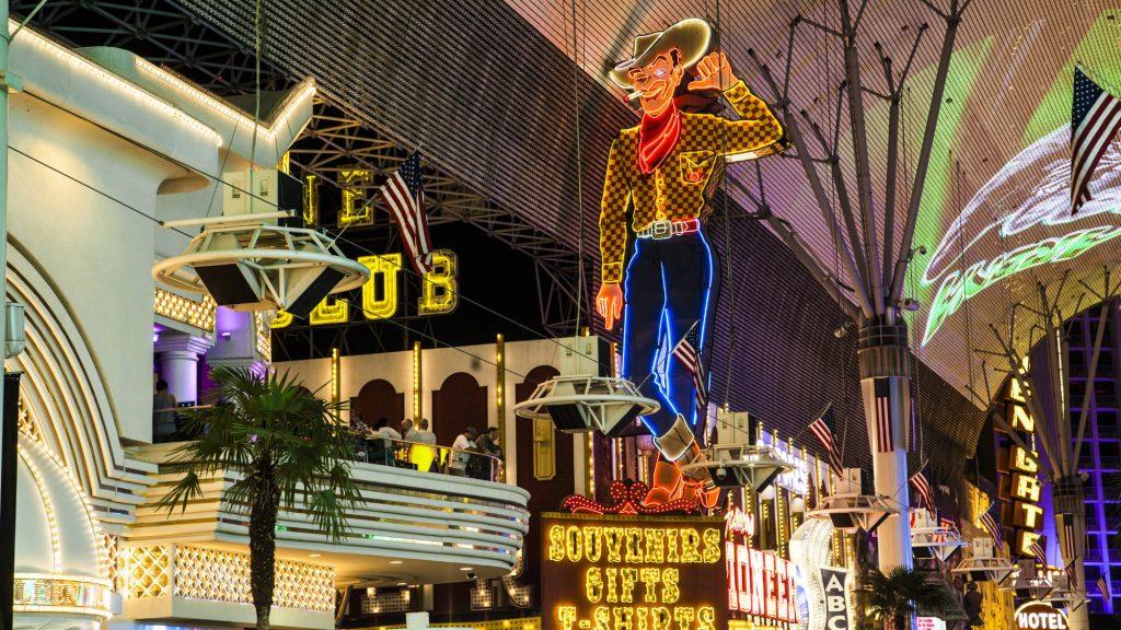 Vegas Vic in Fremont Street