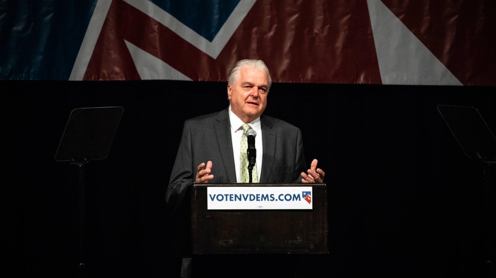 Steve Sisolak, Gubernur Nevada