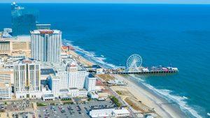 Drone Photo of Atlantic City