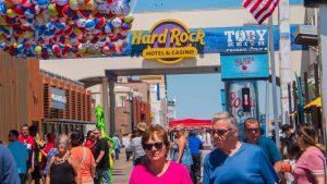 Hard Rock Casino on the Atlantic City Broadwalk