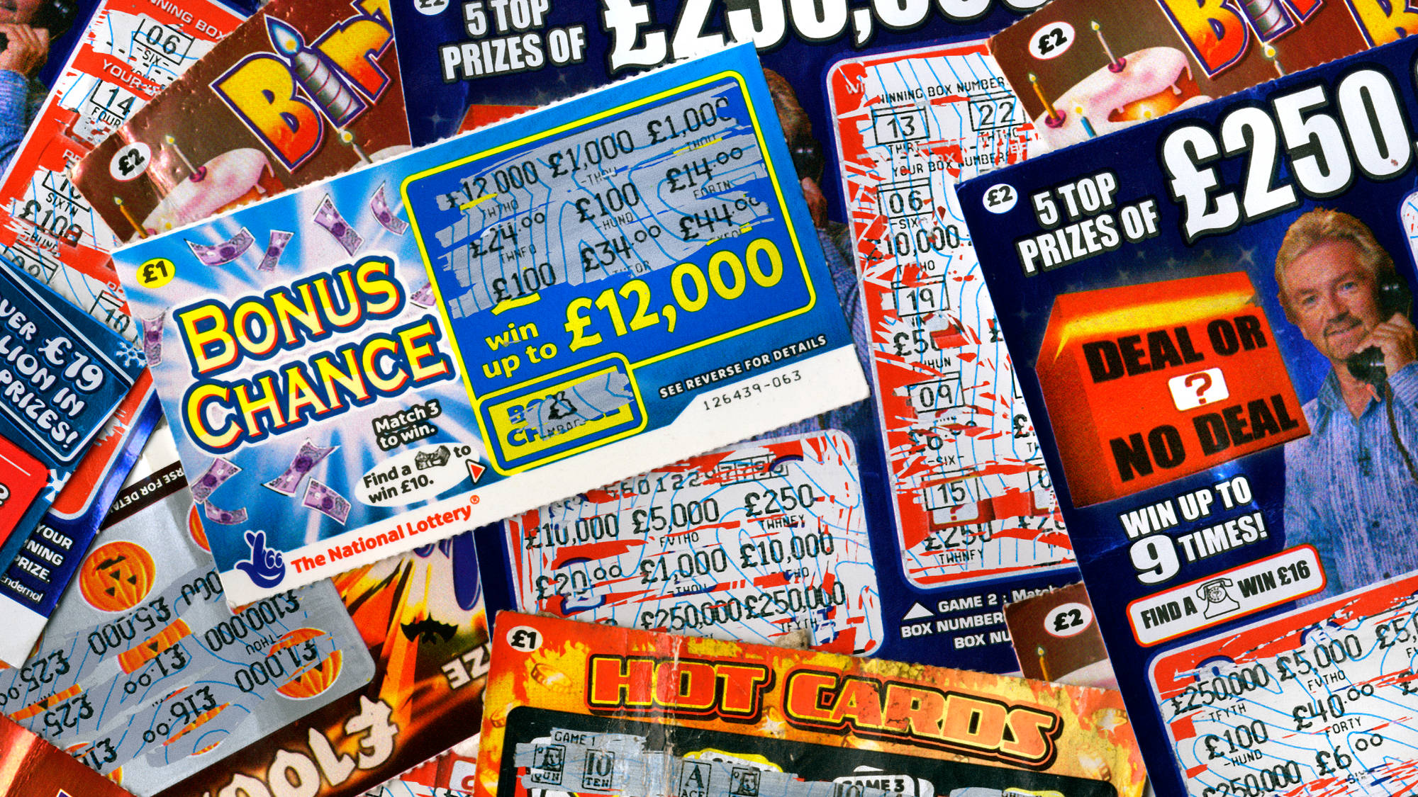 National Lottery Scratchcards
