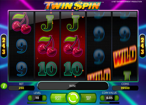 Twin Spin video slot
